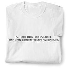 Computer Professional Shirts