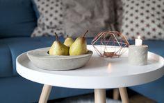 Basteln mit Beton: Kerzenständer und Schale aus Beton selbst basteln. So einfach geht's: