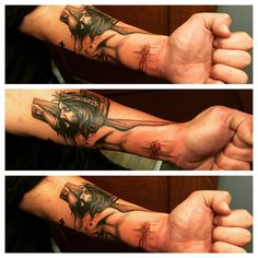 awesome Top 100 Jesus Tattoos - http://4develop.com.ua/2016/01/30/top-100-jesus-tattoos/ Check more at http://4develop.com.ua/2016/01/30/top-100-jesus-tattoos/
