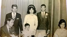 My uncle wedding... I am the cute kid... My mom is on the left, My father is standing on the right... The couple is my uncle and wife