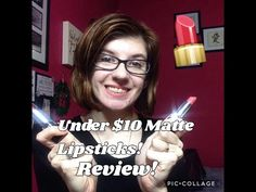 Avon True Color Perfectly Matte Lipsticks Review - YouTube