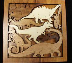 Dinosaur Dilemma an historic adventure of a wood by dj51florida, $24.00