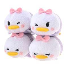 TSUM TSUM - Daisy Duck with 4 cute facial expressions