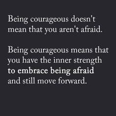 My journey to becoming more courageous and learning that vulnerability is not a weakness.