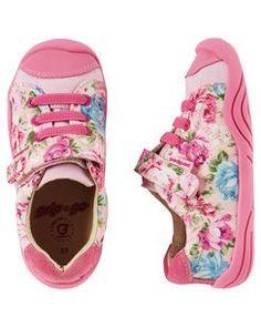 Pediped Grip 'n' Go Jake Pink Floral --  Carters.com