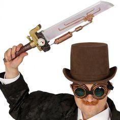 Épée Steampunk #déguisements #accessoires #steampunk