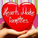 Hearts make families