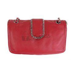 Chanel Red Lambskin Chain Around 10inch Medium – CHICS – Beautiful Handbags & Accessories