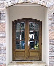 Doors by Decora - Country French Exterior Wood Entry Door Collection ...