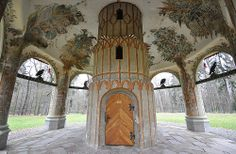Castle park Vlašim - Chinese pavilion