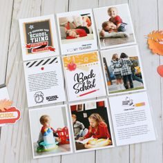 """Can't believe our kids are back at school already! 😭 To create this page I used the """"Back to School"""" collection and stamps by… School Scrapbook, Scrapbook Pages, Scrapbook Layouts, Life Journal, Journal Cards, Fall Projects, School Projects, Pocket Page Scrapbooking, Scrapbooking Ideas"""