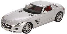 Maisto Premiere Edition - Mercedes-Benz SLS AMG Model Car 1:18 - Red (36196)  Manufacturer: Maisto Enarxis Code: 018076 #toys #Maisto #miniature #cars #Mercedes #AMG