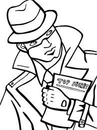 Image Result For Spy Coloring Pages Spy Kids Coloring Pages For