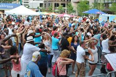 Salsa on the Square tonight, August 16 from 7-10pm. See Son del Caribe perform and dance the night away!