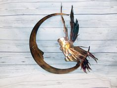 Fairy Moon Metal Wall Art