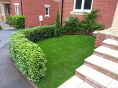 Artificial Grass is great for those inconvenient places that you no longer need to fuss about. An amazing first impression.