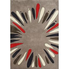 Alliyah Handmade Wood/ Smoke New Zealand Blend Wool Rug (5' x 8') | Overstock™ Shopping - Great Deals on Alliyah Rugs 5x8 - 6x9 Rugs