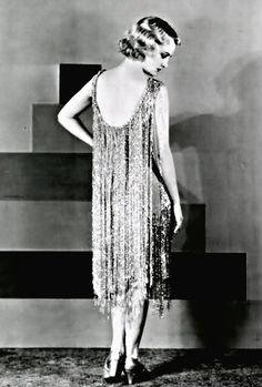 Dress, late 1920s.                                                                                                                                                                                 More