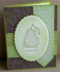 Faith in Nature SC390 thank you by tessaduck - Cards and Paper Crafts at Splitcoaststampers