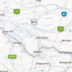 Current bushfires using Bing: Incident Alert