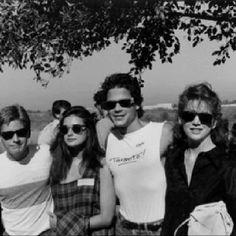 Celebrity Anti-War March  Emilio Estevez, Demi Moore, Rob Lowe, Melissa Gilbert  10-06-1985