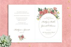 The most beautiful and unique wedding invitations, RSVP cards, and other wedding stationery available in Ireland, the UK and worldwide. Unique Wedding Invitations, Wedding Stationery, Stationery Design, Booklet, Watercolour, Floral Wreath, Coral, Printables, Suit