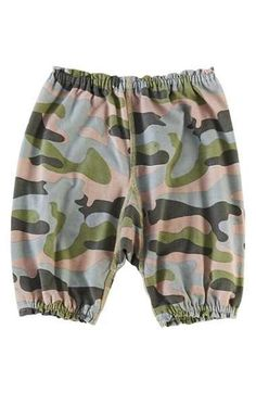 Peek Peek 'Happy - Camo' Pants (Baby Boys) available at #Nordstrom