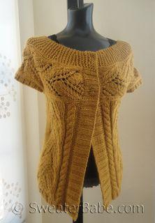 #171 Extra Spicy Mustard PDF Knitting Pattern - Sweaterbabe.com