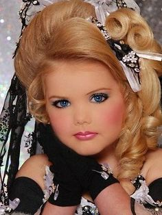 Eden Wood's visit once again raises the debate - should we ban child beauty pageants?
