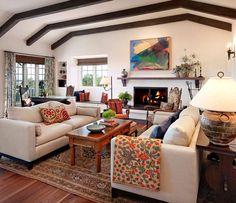 Santa Barbara Ca Home Designed By Lutah Maria Riggs Spanish Style Interiors