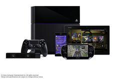 PS4 console & menu