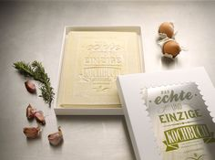 A special edition edible cookbook from German design firm Korefe and Gerstenberg Publishing, the recipes are printed on fresh pasta pages that can be baked into a delicious lasagna!
