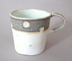 Cup ceramic vessel #mug #cup of tea mug It' s only a storm in a teacup Porcelain mug