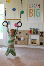 The COOLEST playroom EVER! So many INDOOR things for kids to do!! Fun at Home with Kids: Designing Playspaces: Our Playroom