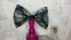 Army seal sequin accented hair bow military by LouLeeAndMe on Etsy