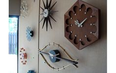 cluster of mod clocks