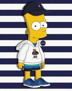 Simpson Wallpaper Iphone, Cartoon Wallpaper, Wallpaper Backgrounds, Iphone Wallpaper, Wallpapers, Simpsons Drawings, Simpsons Art, Cartoon Sketches, Bart Simpson Tumblr