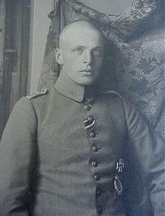Oswald Boelcke, the WWI fighter ace who was the Red Baron's mentor. Author of the famous (to fighter pilots) Boelcke's Dicta, he was shot down in 1916 over Douai when he was 25.