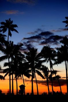 It might sound a bit cliche, but I would very much like to go to Hawaii one day.