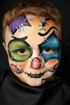 Dragon Face Painting, Girl Face Painting, Face Painting Designs, Body Painting, Halloween Makeup Looks, Halloween Cosplay, Halloween Costumes For Kids, Scary Halloween, Face Paint Makeup
