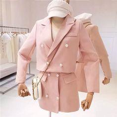 Korean Fashion Trends, Kpop Fashion, Cute Fashion, Asian Fashion, Girl Fashion, Cute Skirt Outfits, Classy Outfits, Pretty Outfits, Future Clothes