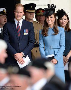 Duchess Kate at D-Day Celebration