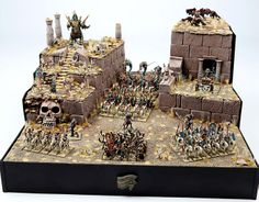 Discover recipes, home ideas, style inspiration and other ideas to try. Warhammer Tomb Kings, Warhammer Armies, Warhammer Fantasy, Warhammer 40k, Warhammer Terrain, What's New Today, King Art, Fantasy Miniatures, Tabletop Games