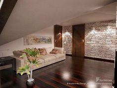 Мансарда, Kucherenko Design, студия дизайна интерьера, Гостиная, Дизайн интерьеров Formo.ua
