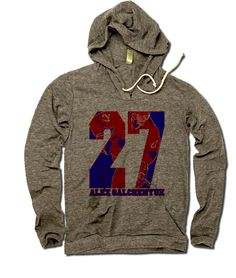 500 LEVEL's licensed apparel is designed by and made for sports fans. Order our Julius Thomas apparel to support your favorite player in style. Jay Cutler Football, Logan Couture, Kyle Long, Tony Dorsett, Steven Johnson, Reggie Jackson, Odell Beckham Jr, Hoodies, Handstand