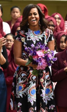 The First Lady. Michel Obama