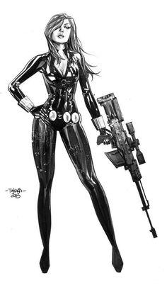 Woman Spy Draft #draft #sketch