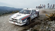 1983 - Driver: Walter Röhrl - Rally: Portugal - Car: Lancia
