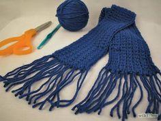How to Crochet a Scarf Using Single Crochet: 5 Steps