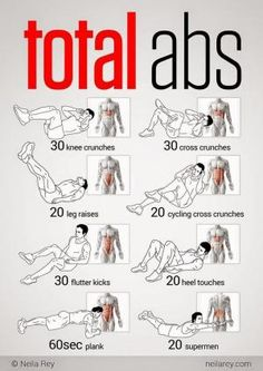 Total Abs Workout   Fitness, health and beauty by bertha